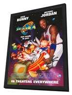 Space Jam - 11 x 17 Movie Poster - Style F - in Deluxe Wood Frame