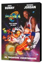 Space Jam - 11 x 17 Movie Poster - Style F - Museum Wrapped Canvas