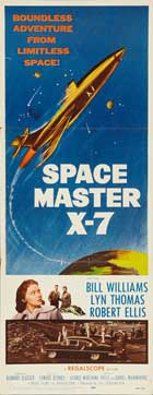 Space Master X-7 - 14 x 36 Movie Poster - Insert Style A