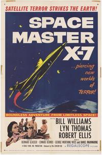 Space Master X-7 - 27 x 40 Movie Poster - Style A