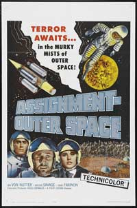 Space Men - 11 x 17 Movie Poster - Style A
