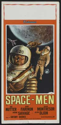 Space Men - 13 x 30 Movie Poster - Australian Style A