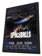 Spaceballs - 11 x 17 Movie Poster - Style C - in Deluxe Wood Frame