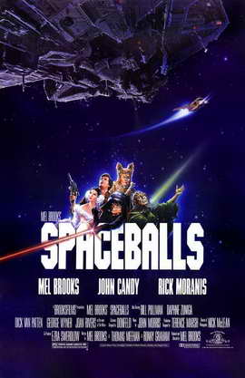 Spaceballs - 11 x 17 Movie Poster - Style A