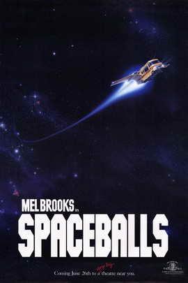 Spaceballs - 11 x 17 Movie Poster - Style B