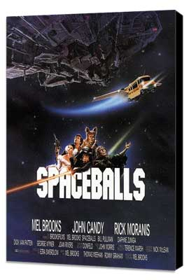 Spaceballs - 11 x 17 Movie Poster - Style C - Museum Wrapped Canvas