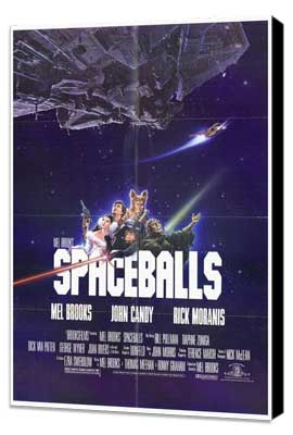 Spaceballs - 27 x 40 Movie Poster - Style A - Museum Wrapped Canvas