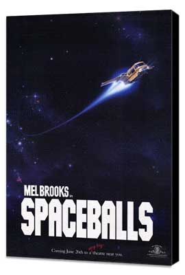 Spaceballs - 27 x 40 Movie Poster - Style B - Museum Wrapped Canvas