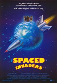 Spaced Invaders - 43 x 62 Movie Poster - Bus Shelter Style A