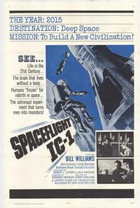 Spaceflight IC-1 - 11 x 17 Movie Poster - Style A