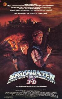 Spacehunter: Adventures in the Forbidden Zone - 11 x 17 Movie Poster - Style A