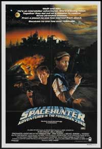 Spacehunter: Adventures in the Forbidden Zone - 11 x 17 Movie Poster - Style B