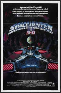 Spacehunter: Adventures in the Forbidden Zone - 27 x 40 Movie Poster - Style B