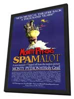 Spamalot (Broadway) - 27 x 40 Poster - Style A - in Deluxe Wood Frame