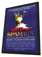 Spamalot (Broadway) - 14 x 22 Poster - Style A - in Deluxe Wood Frame