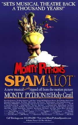 Spamalot (Broadway) - 11 x 17 Poster - Style A
