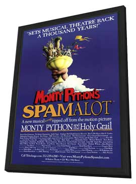 Spamalot (Broadway) - 11 x 17 Poster - Style A - in Deluxe Wood Frame