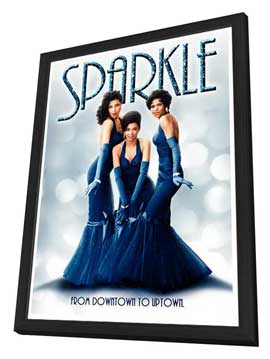 Sparkle - 27 x 40 Movie Poster - Style C - in Deluxe Wood Frame