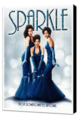 Sparkle - 27 x 40 Movie Poster - Style C - Museum Wrapped Canvas