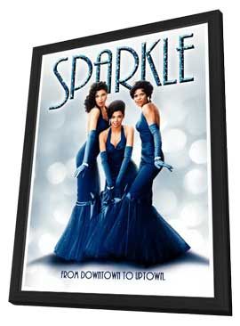Sparkle - 11 x 17 Movie Poster - Style C - in Deluxe Wood Frame