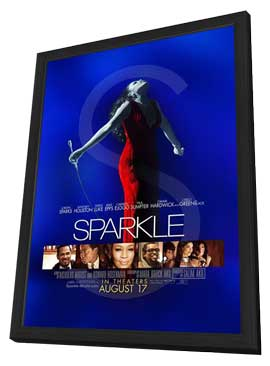 Sparkle - 11 x 17 Movie Poster - Style B - in Deluxe Wood Frame