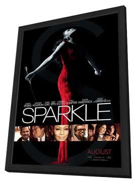 Sparkle - 27 x 40 Movie Poster - Style A - in Deluxe Wood Frame