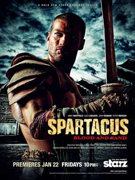 Spartacus: Blood and Sand (TV) - 11 x 17 TV Poster - Style D