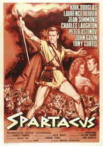 Spartacus - 27 x 40 Movie Poster - Italian Style A