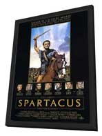 Spartacus - 27 x 40 Movie Poster - Style D - in Deluxe Wood Frame