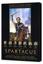 Spartacus - 27 x 40 Movie Poster - Style D - Museum Wrapped Canvas