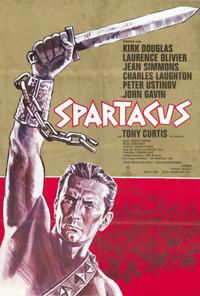 Spartacus - 27 x 40 Movie Poster - German Style A