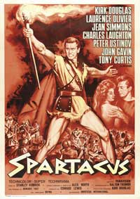 Spartacus - 11 x 17 Movie Poster - Italian Style A