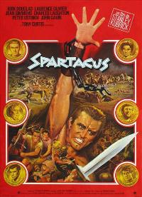 Spartacus - 11 x 17 Movie Poster - French Style A