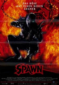 Spawn - 11 x 17 Movie Poster - German Style A