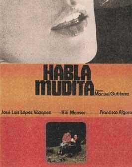 Speak, Little Mute Girl - 27 x 40 Movie Poster - Style A