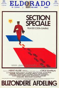Special Section - 11 x 17 Movie Poster - Belgian Style A