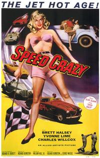 Speed Crazy - 11 x 17 Movie Poster - Style A