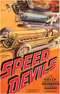 Speed Devils - 43 x 62 Movie Poster - Bus Shelter Style A