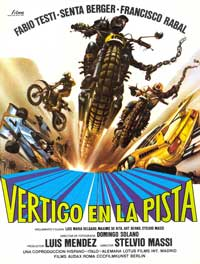 Speed Driver - 11 x 17 Movie Poster - Spanish Style A