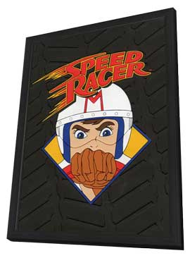 Speed Racer - 11 x 17 TV Poster - Style B - in Deluxe Wood Frame