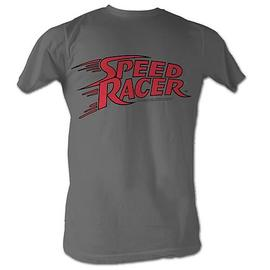 Speed Racer - Logo Charcoal T-Shirt