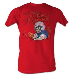 Speed Racer - Logo and Speed Red T-Shirt