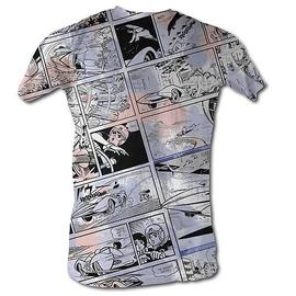 Speed Racer - Comic Collage White T-Shirt
