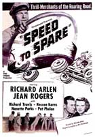 Speed to Spare - 11 x 17 Movie Poster - UK Style A