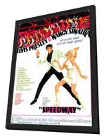 Speedway - 11 x 17 Movie Poster - Style A - in Deluxe Wood Frame