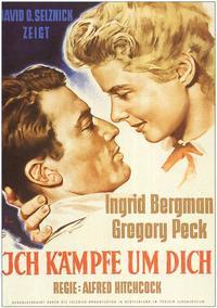 Spellbound - 11 x 17 Movie Poster - German Style A