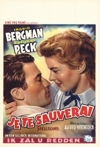 Spellbound - 11 x 17 Movie Poster - Belgian Style A