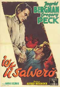 Spellbound - 27 x 40 Movie Poster - Italian Style A