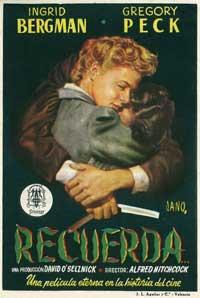 Spellbound - 11 x 17 Movie Poster - Spanish Style B