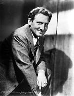 Spencer Tracy - Spencer Tracy Cast Member Posed in Black and White Portrait wearing Formal Suit